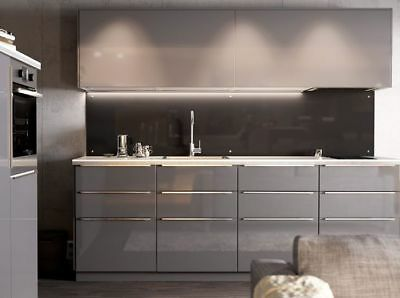 kitchen cabinet faces furniture ideas ikea ringhult gloss grey doors and drawer 1 for sektion door 15 x60