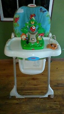 rainforest high chair acme all star soccer 2 piece and ottoman set fisher price healthy care 135 00 picclick