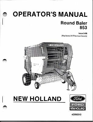NEW HOLLAND BALE Command Controller Operator's Manual 848
