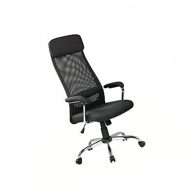 executive mesh office chair dining room chairs sets of 4 eurostile high back adjustable ergonomic cloth ar