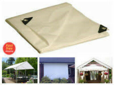 Poly Tarp 12 X 20 Carport Canopy Roof Replacement Rv Boat Cover