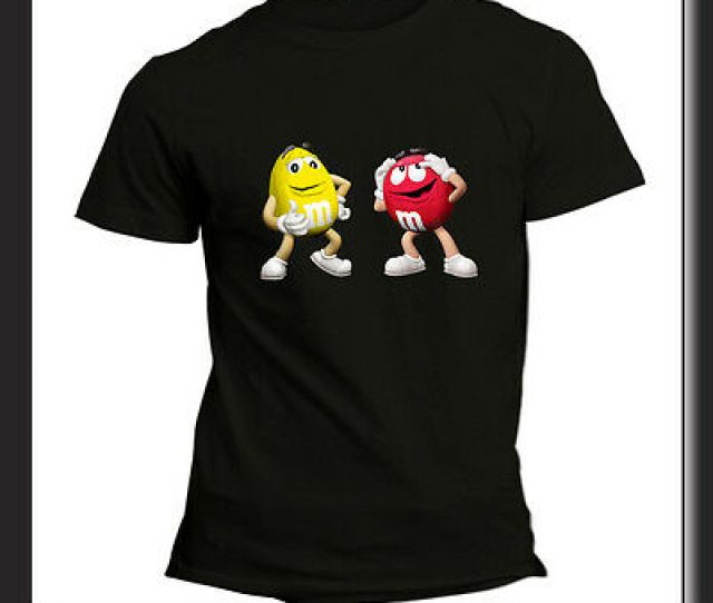 T Shirt Unisex Mms Candy Chocolate Funny