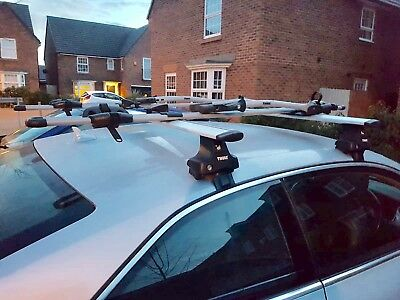 audi a5 coupe 2007 2017 thule roof bars
