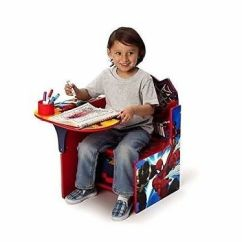 Spiderman Table And Chairs For Room Kids Chair Set Toddler Activity Play Art Desk With Bin Storage
