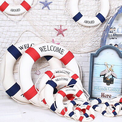 hanging life ring nautical