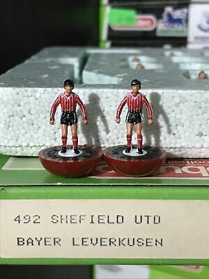 Subbuteo LW Team - Leverkusen Sheffield Utd Ref 492 Beautiful Team Perfect RARE