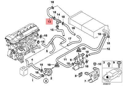 Bmw E39 Coolant System Diagram, Bmw, Free Engine Image For