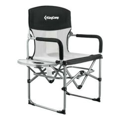 Compact Travel Beach Chairs High Stool Chair Ikea Heavy Duty Camping Portable Folding Kingcamp Mesh With Side Table Handle