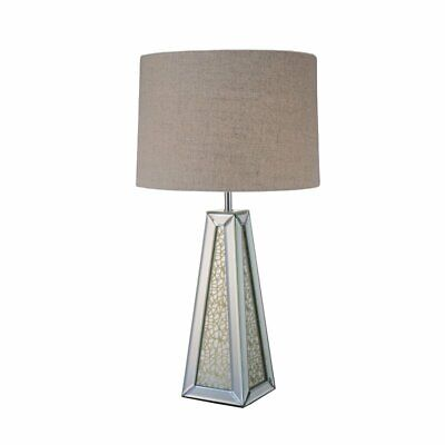 mirrored pyramid living room accent side end table blue and gray ideas 60 00 picclick exclusive acme britt lamp in chrome