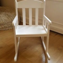Ikea White Rocking Chair Fisher Price Rainforest High Replacement Parts Sundvik Kids 20 00 Picclick Uk