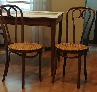 bentwood cane seat chairs chair covers for sale durban vtg thonet style zpm radomsko poland local pickup