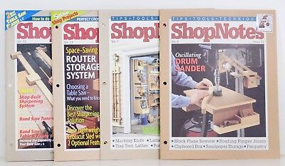 Shop Notes Magazine Back Issues