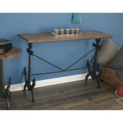 Sofa Tables For Living Room Interior Design Pics Console Table Rustic Narrow Accent Entryway Hallway