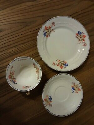 Collecting cups place setting 3 pieces;  very good condition - Bavaria Zek Scherzer