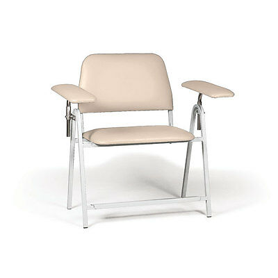 blood draw chair office with arms tall height bariatric 50 w x 29 d 43 h 1 ea
