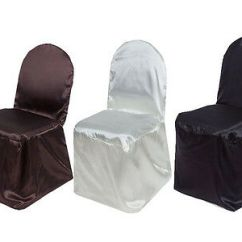 Banquet Chair Covers Wholesale Butterfly Cotton 100 Pcs Satin Wedding Party Reception Decorations