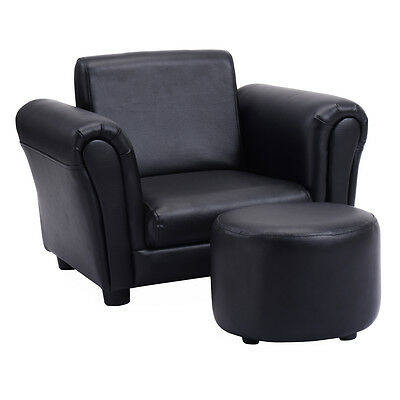 toddler chair and ottoman recliner chairs sale kids children sofa armchair lounge single seat cushioned couch toddlers furniture us