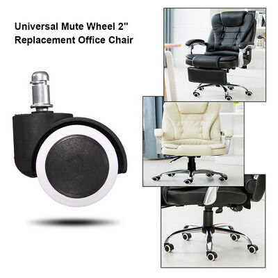 office chair casters upholstery design 5 10pcs caster wheel swivel rubber floor home furniture replacement