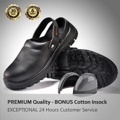 Kitchen Safe Shoes Price Of Cabinets Safetoe Safety Water Resistant Steel Toe Slip On
