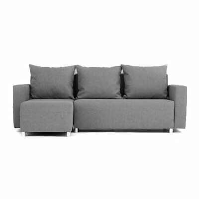 corner sofa bed recliner kimberly 2 in 1 fabric l shape couch 3 4