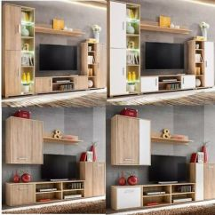 Living Room Furniture Sets Uk Turquoise Wall Decor Set Tv Unit Cabinet Floor Stand Cupboard Sonoma 160 99 Picclick