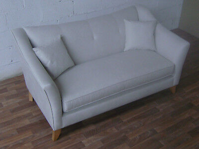 regency sofa john lewis dfs 2 seater leather grand ex display rrp 2499 free uk kendal medium in escher smoke fabric