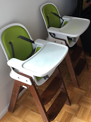 oxo high chair eames office tot sprout orange black 224 99 picclick one 1 in excellent conditions