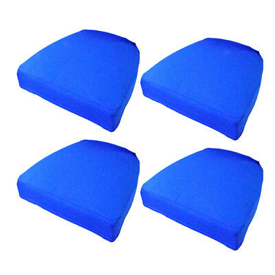 chair pad covers wedding kitchen chairs on wheels swivel 4x stretch seat cushion cover protector bar stool pads soft dining replacement