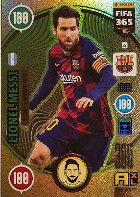 Lionel Messi TOP MASTER Barcelona Adrenalyn XL 2021 Fifa 365