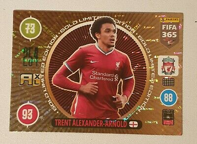 Trent Alexander -Arnold Golden Limited Edition Adrenalyn XL 2021 Fifa 365