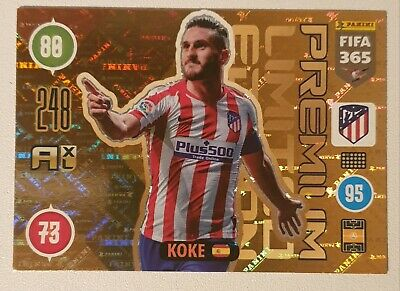 Koke Premium Limited Edition Adrenalyn XL Atletico Madrid 2021 Fifa 365