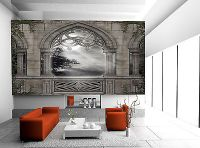 GOTHIC SCENERY WALL Mural Photo Wallpaper GIANT DECOR ...