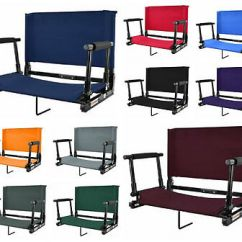 Stadium Chairs For Bleachers With Arms Thomas The Train Table And Chair Set Bleacher Seats Backs Cushion 20 Wide Heavy Duty
