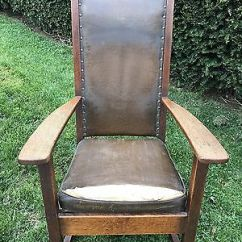 Rocking Chair Antique Styles Flexible Love Material Oak Morris Rocker Binghamton Vintage Mission Style