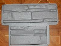 Plastic Molds for Concrete Plaster Stone Decoration Wall ...