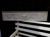 VERY LARGE ORNATE Wall Plaque Decorative Moulding Over ...
