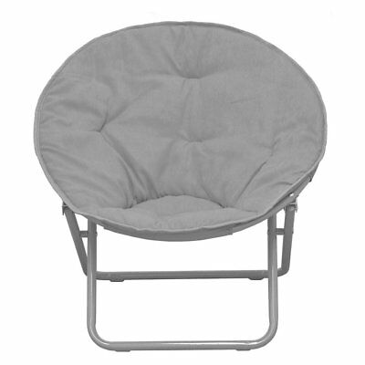 saucer chair for kids outdoor patio high chairs american solid faux fur 30 96 picclick