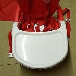 Mothercare Travel High Chair Booster Seat Burnt Orange Uk Deluxe 10 00 Picclick Folding Portable Highchair With Tray Used