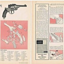M16 Exploded Diagram Wiring 12 Volt Generator Ar 15 View Assembly Poster Picture M4 X 16 Heavy Japanese Type 26 Revolver 9mm 1893 And 2 Pages 1967 Ad