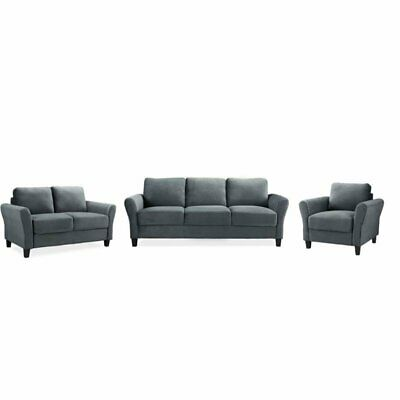 colonial sofa sets patio cheap and chairs vintage 3 piece set 500 00 picclick with loveseat accent chair in dark gray