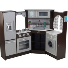 Play Kitchens For Boys Kitchen Pantry Drawer Systems Kidkraft Ultimate Corner With Lights And Sounds Boy Girl Toy Gift