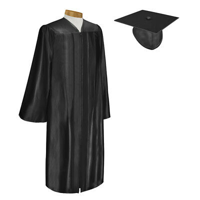 graduation cap gown and