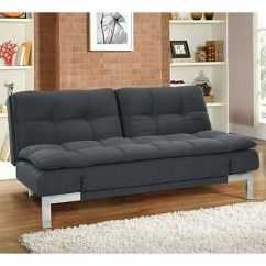 Tomas Fabric Sofa Chaise Convertible Bed Dark Java White Denim Sectional Lifestyle Solutions Serta Dream Thomas In Boca Charcoal Full