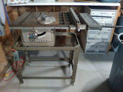 Vintage Craftsman Table Saw Stand