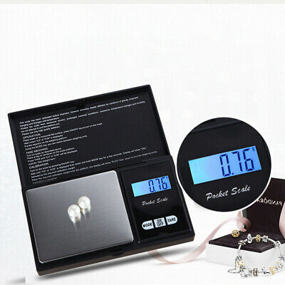 Precision Electronic Scale Pocket Weigh Scale Jewelry Grass 0.1 / 0.01g