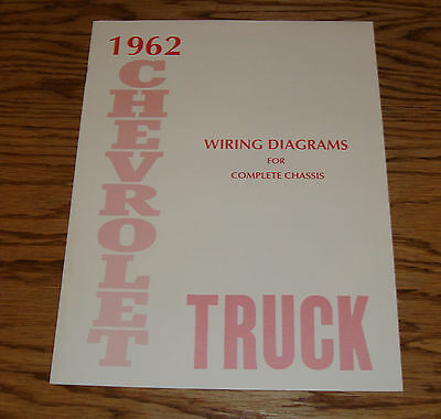 1960 chevrolet truck wiring diagram manual for complete chassis 60