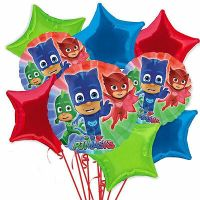 40 PJ MASKS BIRTHDAY PARTY LOLLIPOP STICKERS ~ goody bags ...