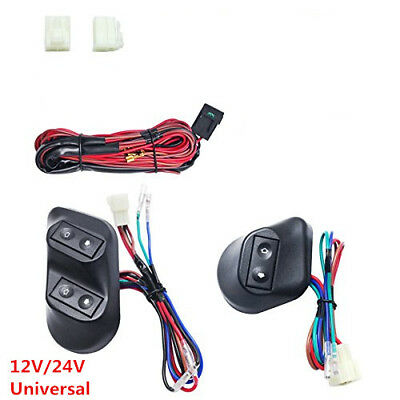 power window fort universal 12v dc 2006 gmc sierra bose audio wiring diagram diy new car electric switch with wire harness 3pcs buttons kits