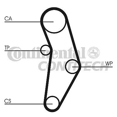 TIMING BELT kit FIAT Ducato Iveco Daily Renault Master
