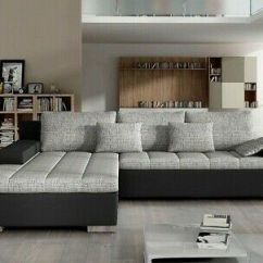Corner Sofa Bed Oslo Mini Storage Container Sleep Function New Reupholstery Cost Sydney Bangkok Bonell Springs